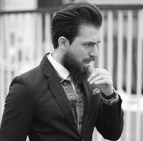 Mens Layered Classy Hairstyle