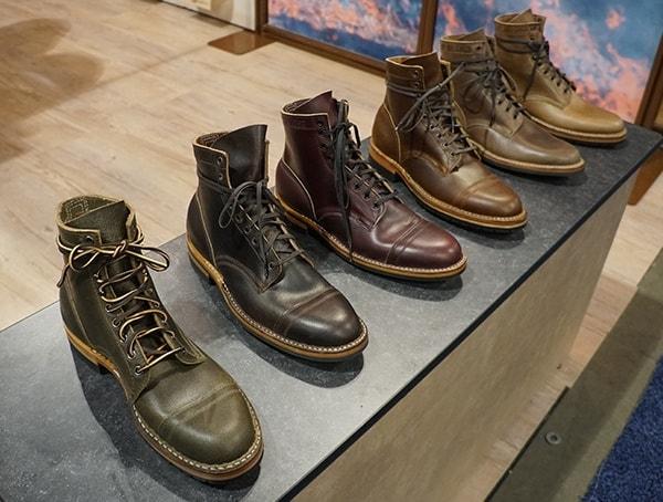 Mens Leather Dress Boots Outdoor Retailer Summer Market 2018