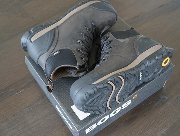 a3d44a84c8c Men's Bogs Foundation Mid Leather Composite Toe Boots Review