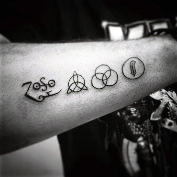 Mens Led Zeppelin Tattoo Ideas