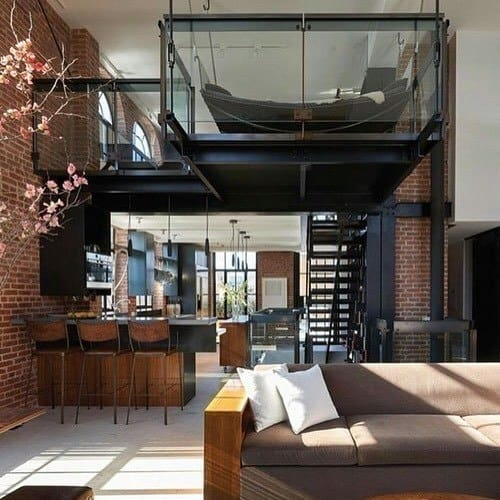 7 Stylish Decorating Ideas For A Japanese Studio Apartment: Cool Two Story Designs