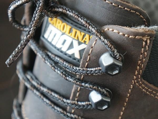 Mens Logger Boots Metal Lace Hardware Detail Carolina Maximus 2 0
