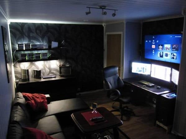 Men's Lounge Man Cave