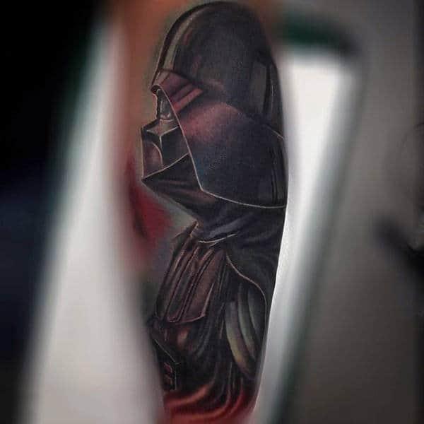 Mens Lovely Darth Vader Tattoo