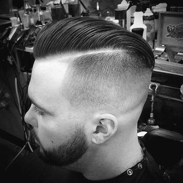 Mens Low Skin Fade Haircut
