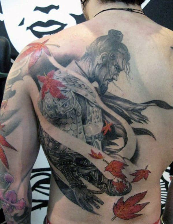 Men's Lower Back Tattoos