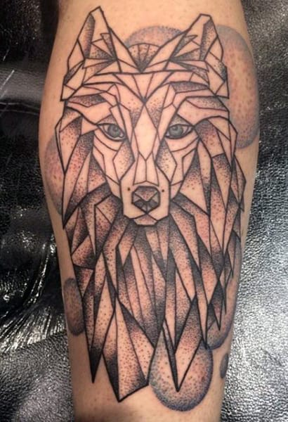 Men's Lower Calf Tattoo Ideas