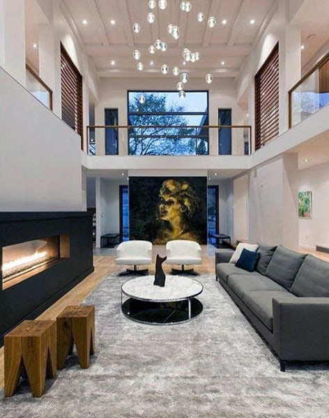 Delightful Mens Luxury Living Room Designs