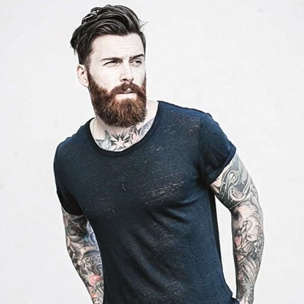 Mens Manly Beard Dapper Style Ideas