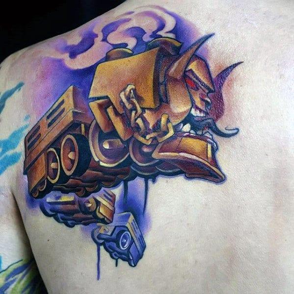 Mens Manly Cartoon Tattoo Designs
