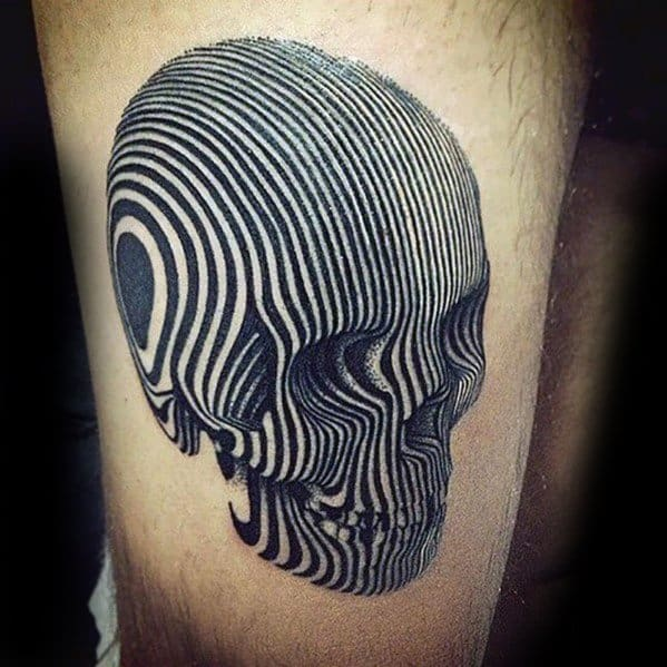 Mens Manly Trippy Tattoo Designs