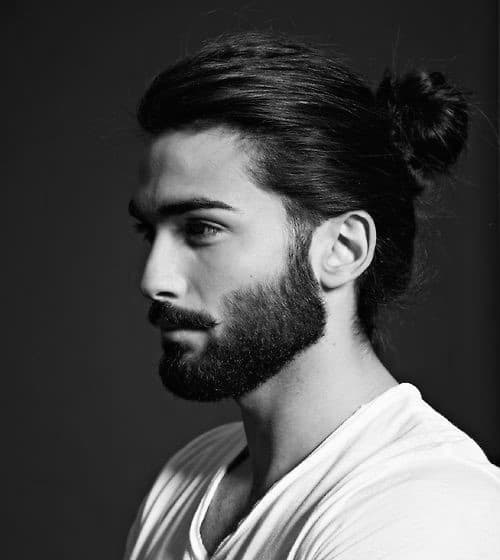 Men's Medium Length Hair With Beards