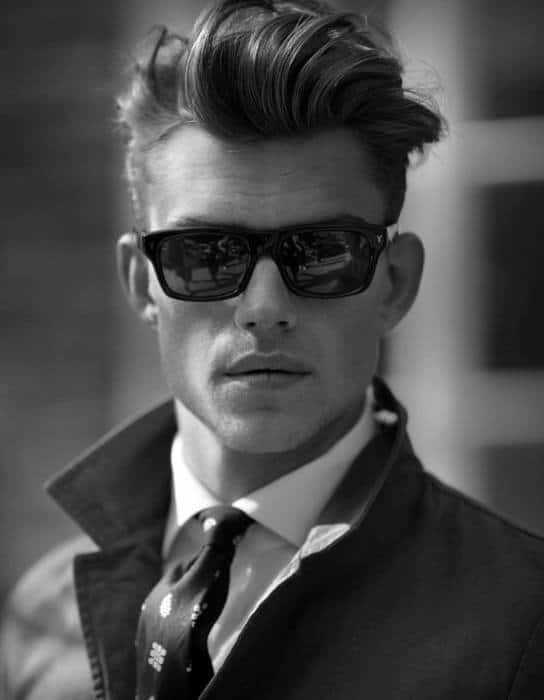 Mens Messy Quiff Hairstyles