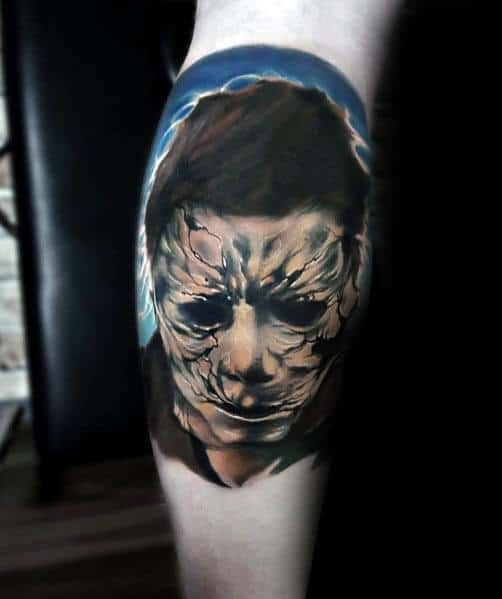 Mens Michael Myers Tattoos