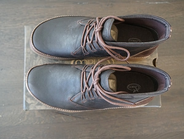Mens Mid Height Chaco Montrose Chukka Boots Top