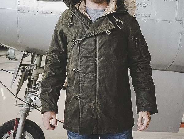 Mens Military Parka Olive Cockpit Usa Mountain Ranger Front Review