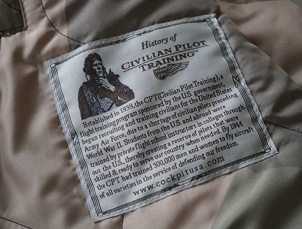 Mens Mountain Ranger Parka Interior History Of Civilian Pilot Training