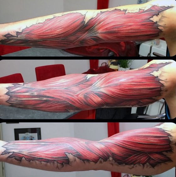 Mens Muscle Arm Tattoo Ideas