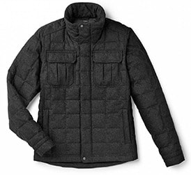 Mens Nau Utility Wool Down Jacket Purchase