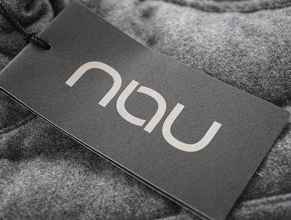 Mens Nau Utility Wool Down Jacket Tag