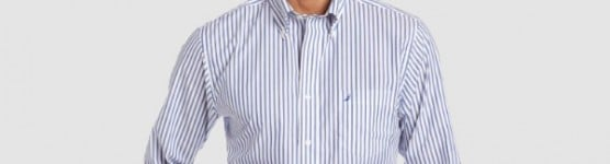 Men's Nautica Vineyard Striped Poplin Shirt