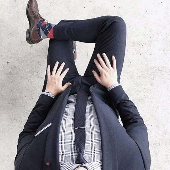 Mens Navy Blue Suit Brown Shoes Style Ideas