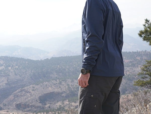 Mens Navy Ogio All Elements Strech 1 4 Zip Jacket Review