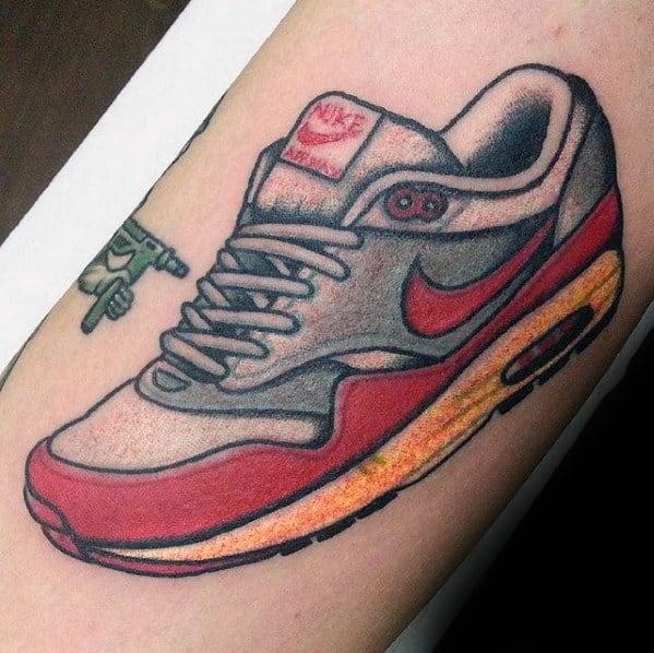 Mens Nike Sneaker Arm Tatto For Men