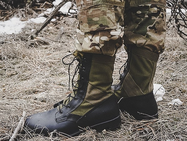 Mens Od 30 Footwear Reviews Olive Green Jungle Boot