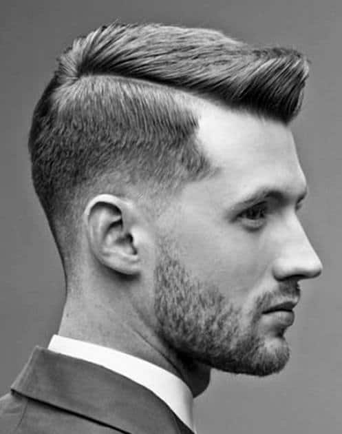 Mens Old School Professional Fohawk Hairstyle