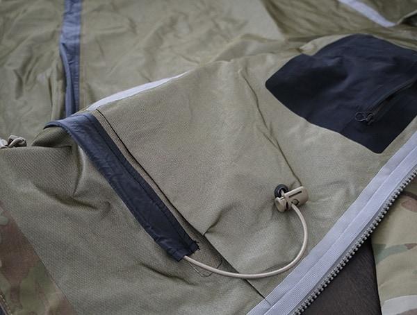 Mens Otte Gear Patrol Parka Cord Adjustment Routing On Interior