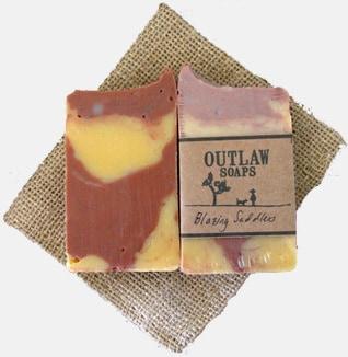 Men's Outlaw Blazing Saddles Soap