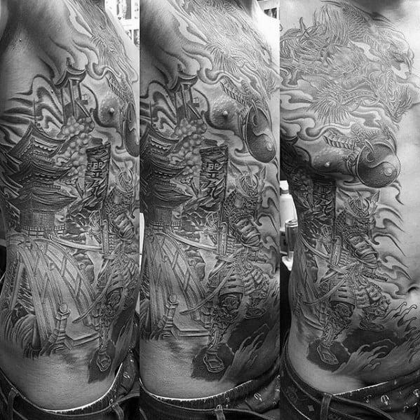 Mens Pagoda Tattoo Ideas