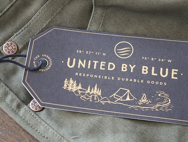 Mens Pants United By Blue Cartwright Tag