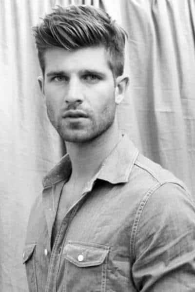 Brilliant Mens Hairstyles Thinning Crown Picture Ideas With Medium Length Short Hairstyles Gunalazisus