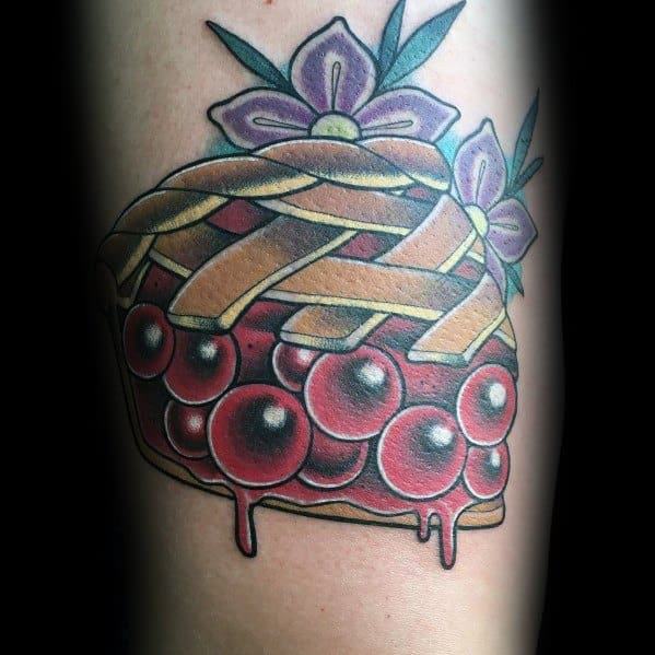 Mens Pie Tattoo Ideas