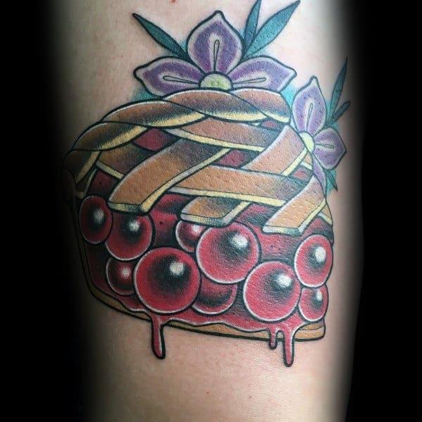 Mens Pie Tattoo Ideas