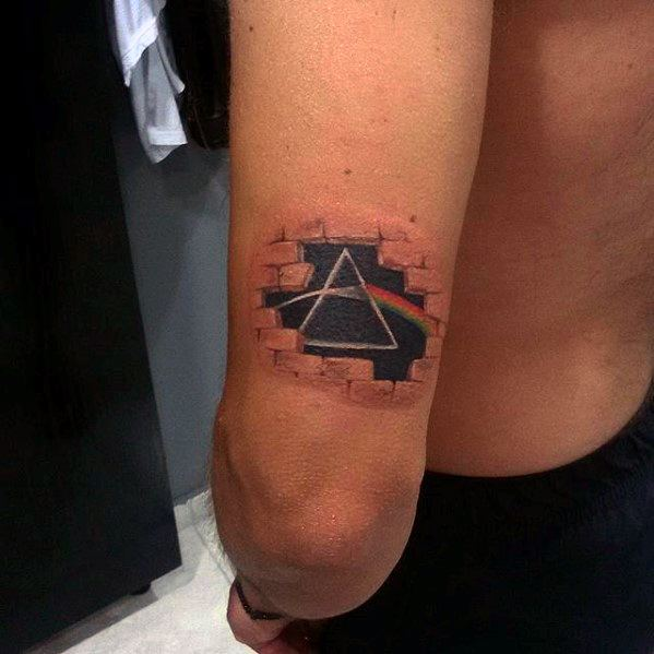 80 Pink Floyd Tattoos For Men Rock Band Design Ideas