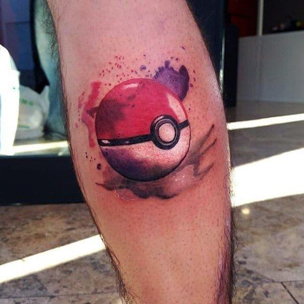 50 pokeball tattoo designs for men pokemon ink ideas