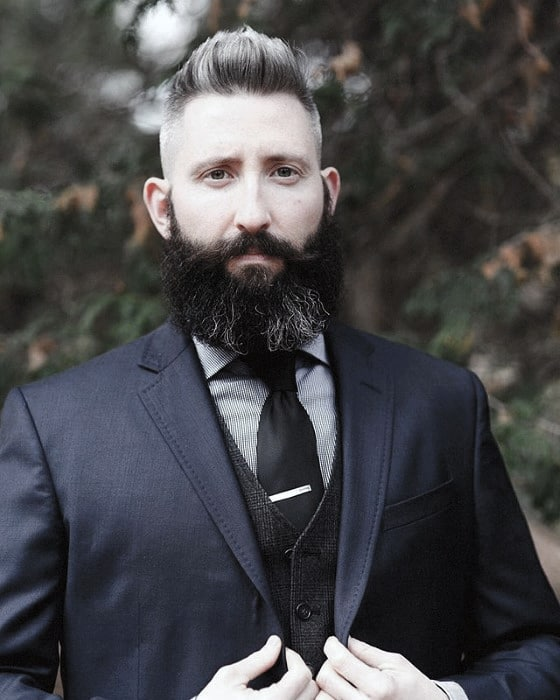 Mens Professional Beard Dapper Style Ideas