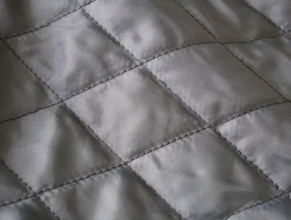 Mens Quilted Dakota Grizzly Tripp Travel Coat Lining