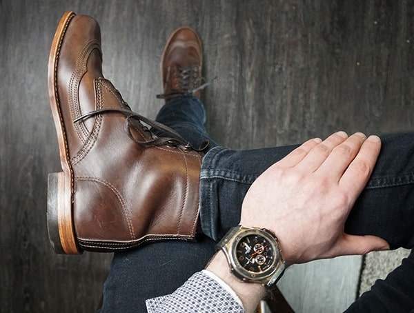 Mens Review Wolverine 1000 Mile Addison Boot
