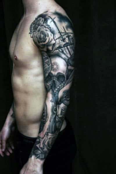 Top 81 Best Rose Tattoos For Men - 2020 Inspiration Guide