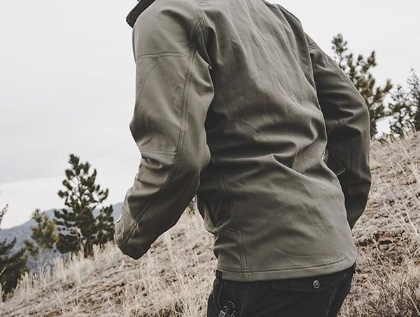 Mens Rustic Green Beyond Clothing Testa Shoftshell Jacket Reviews