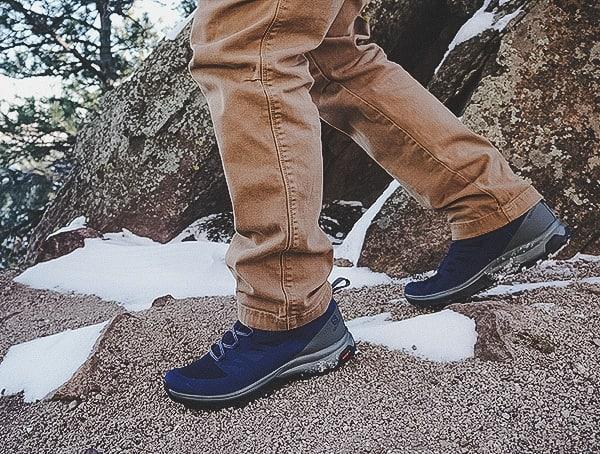 Mens Salomon Outline Mid Gtx Hiking Shoes Review