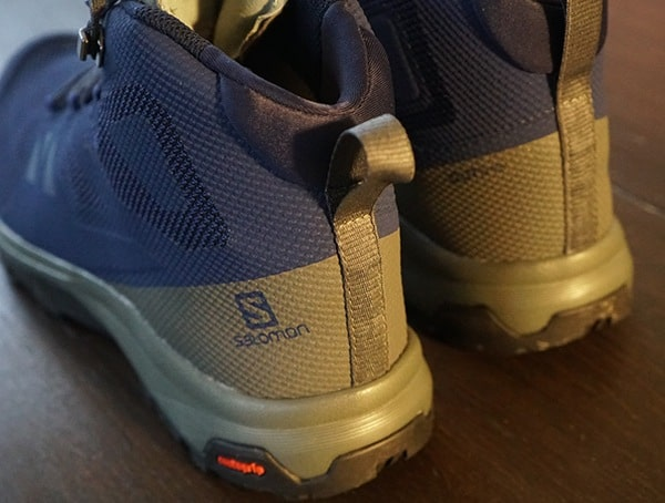 Mens Salomon Outline Mid Gtx Shoes Heel