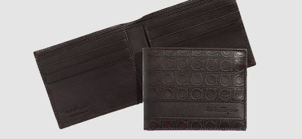 Men's Salvatore Ferragamo Gamma Bi-Fold Wallet