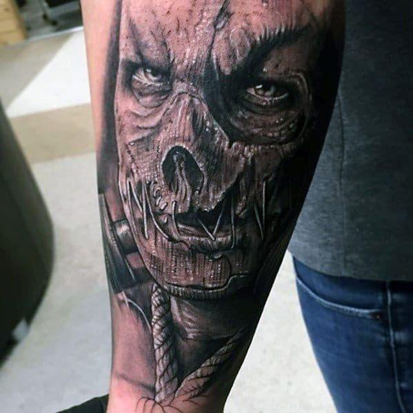 Mens Scarecrow Tattoo Ideas