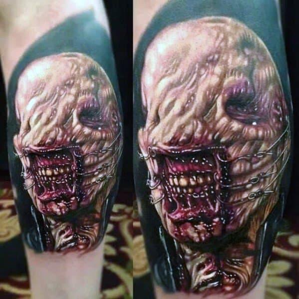 Mens Scary Movie Tattoo Ideas