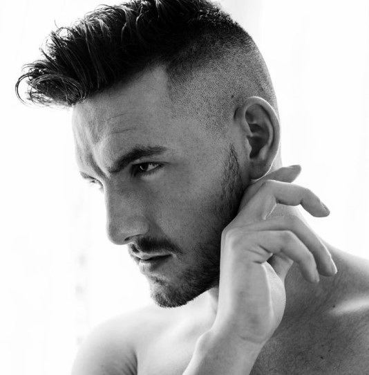 Men's Shaved Side Hairstyles